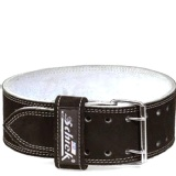 Schiek Double Prong Competition Power Belt,  Black  Medium